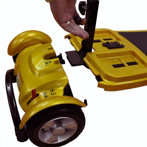 Elektromobil Kymco Fünen Lemon Heck