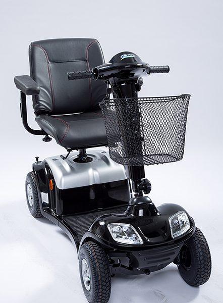 Elektromobil Kymco Spiekeroog schwarz