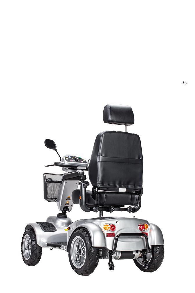 Elektromobil E-Lobil E-504 hinten
